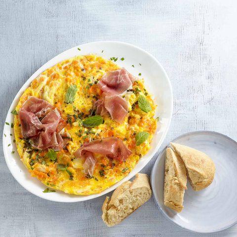 Möhren-Omelett