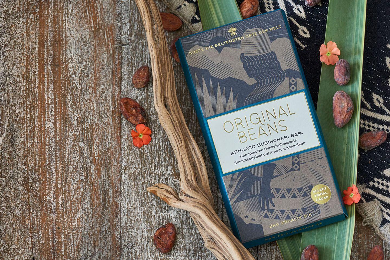 Schokoladentafel Arhuaco Businchari von Original Beans