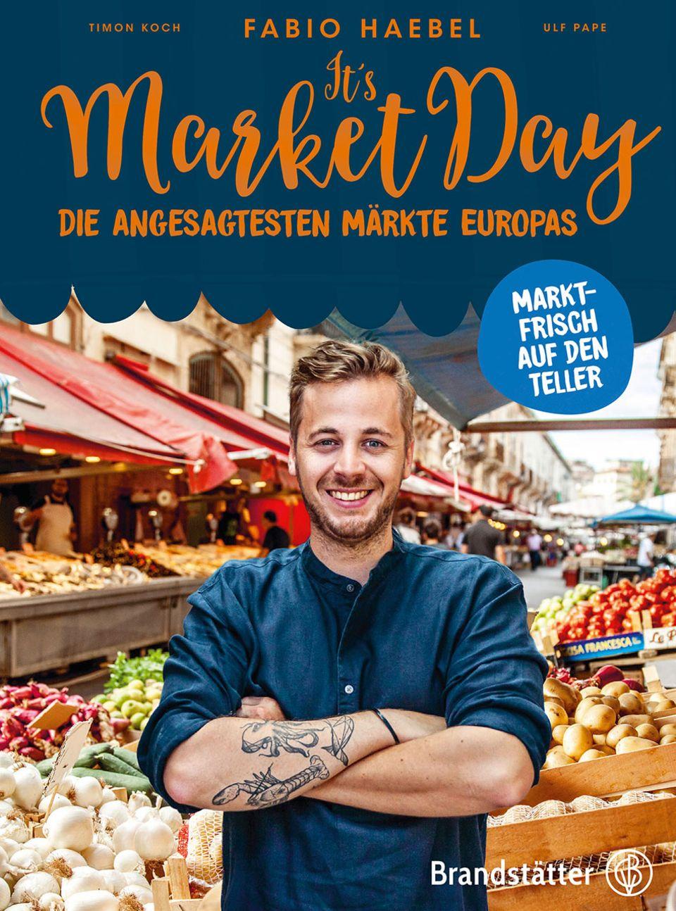 Buch Cover It's market day von Fabio Haebel
