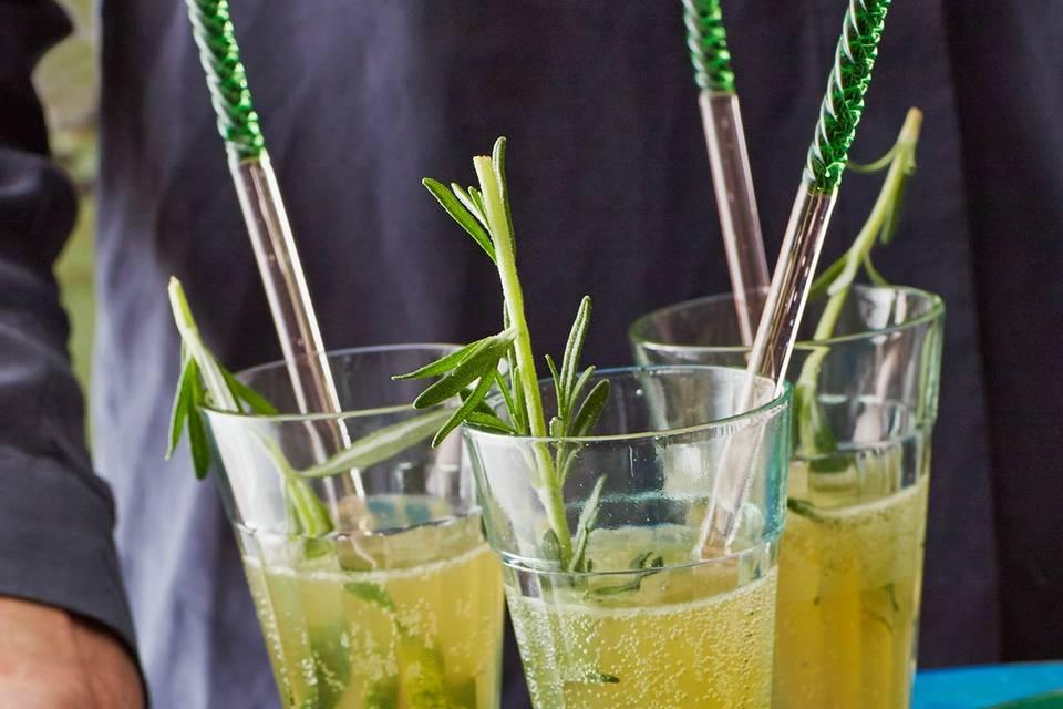 Gin-Sparkler Rezept