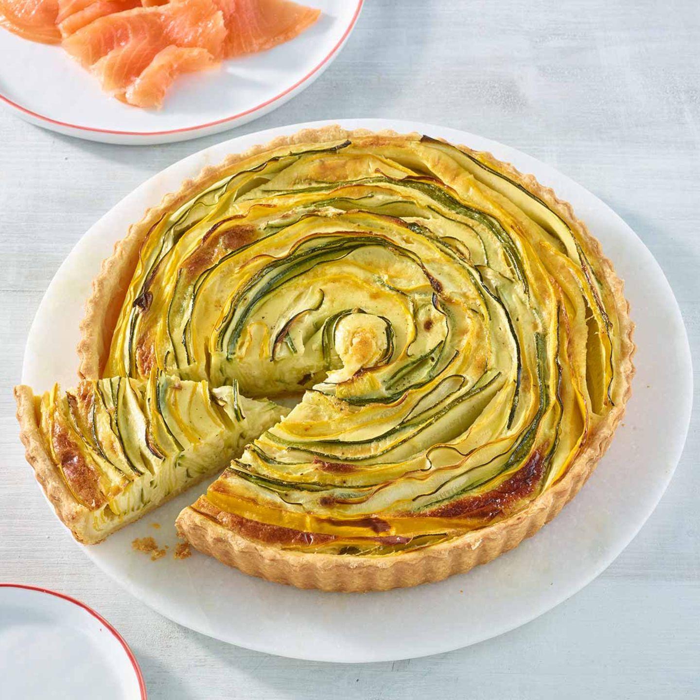 Zucchini-Quiche
