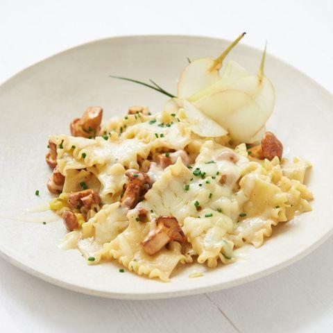 Pfifferlings-Pasta à la Crème