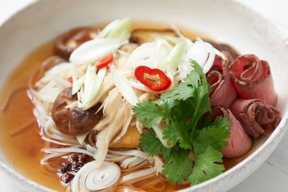 Vietnamesische Pilzsuppe Rezept