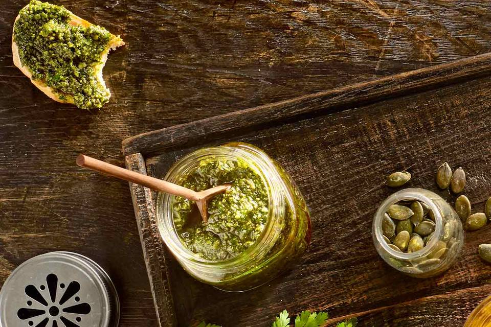 Kürbiskern-Pesto: Thermomix ® Rezept