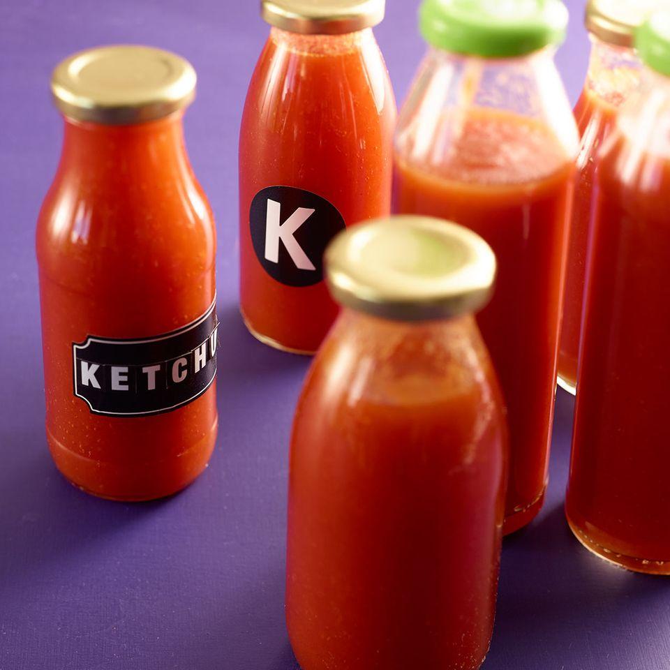 Ketchup aus frischen Tomaten