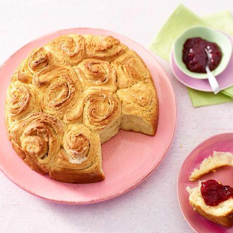 Butter-Rosenkuchen