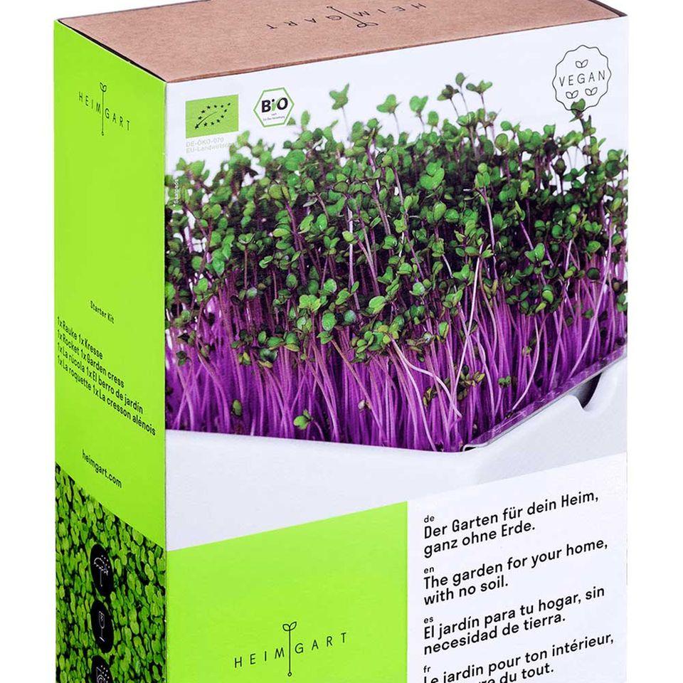 Heimgart-Verpackung