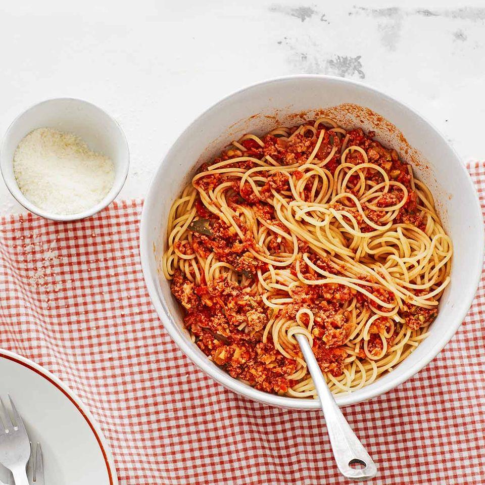 Bolognese mit Parika und Zucchini für Thermomix ®