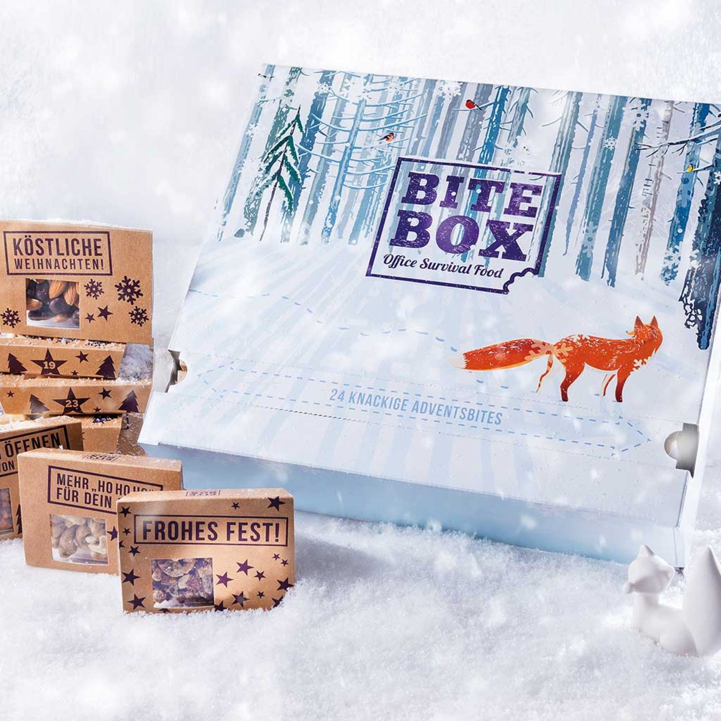 Bite Box Adventskalender Fuchs