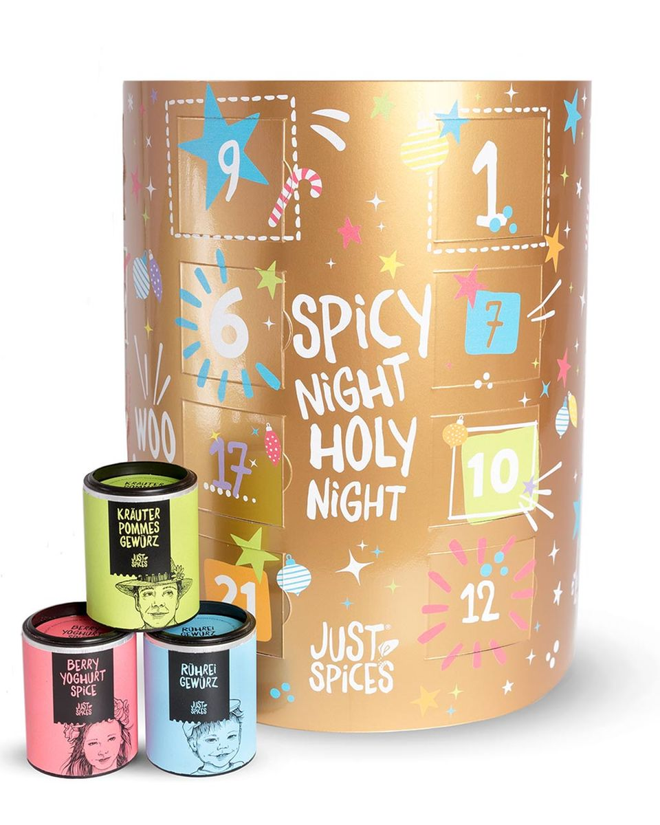 Adventskalender Just Spices 2017