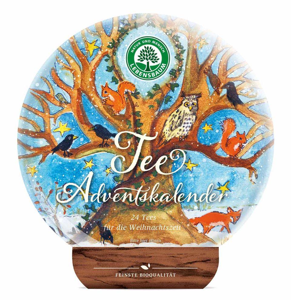 Lebensbaum Tee-Adventskalender 2017