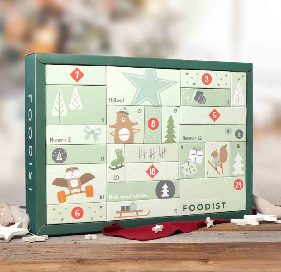 Foodist Active Adventskalender 2017
