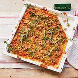 Pizza mit Zucchini und Fenchelhack für Thermomix ®: Rezept
