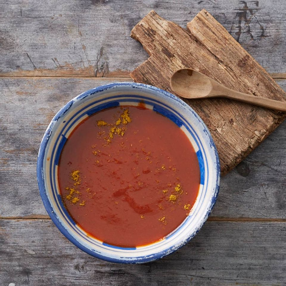 Erdbeer-Curry-Ketchup für Thermomix ®: Rezept