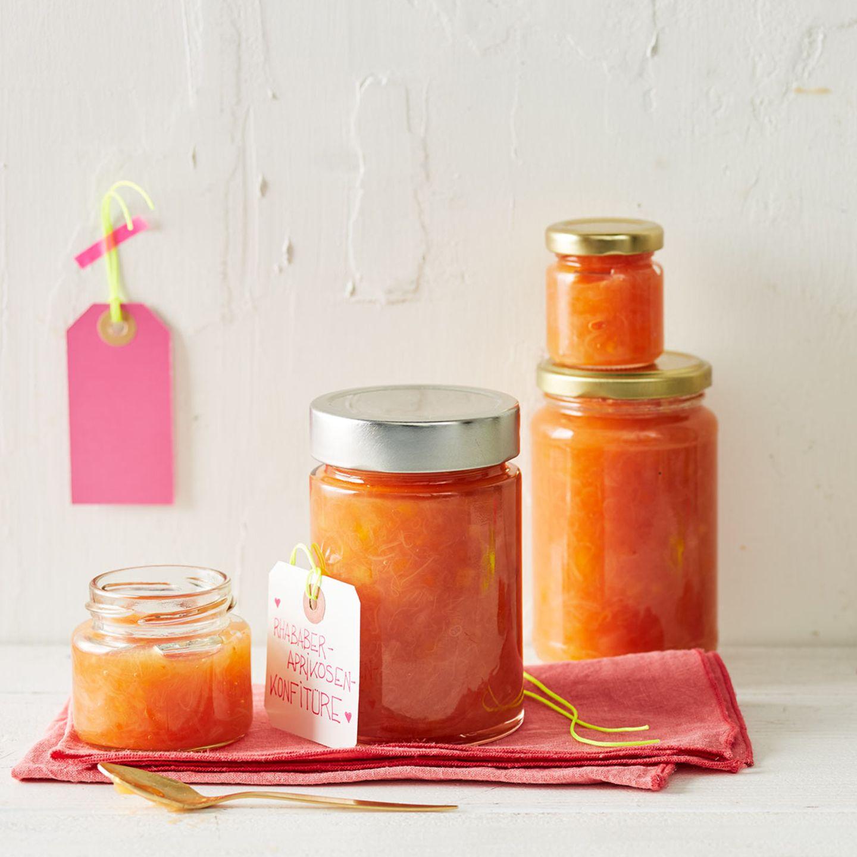 Rhabarber-Aprikosen-Konfitüre für Thermomix ®