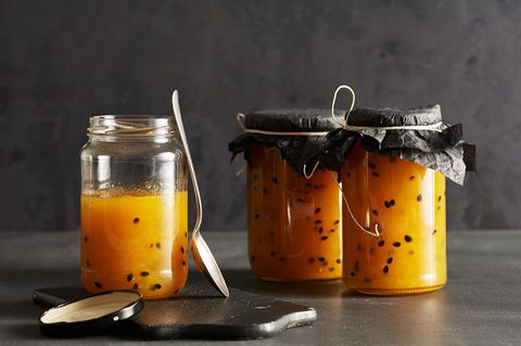 Ananas-Maracuja-Konfitüre für Thermomix ®: Rezept