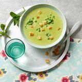 Erbsen-Minz-Suppe für Thermomix ®: Rezept