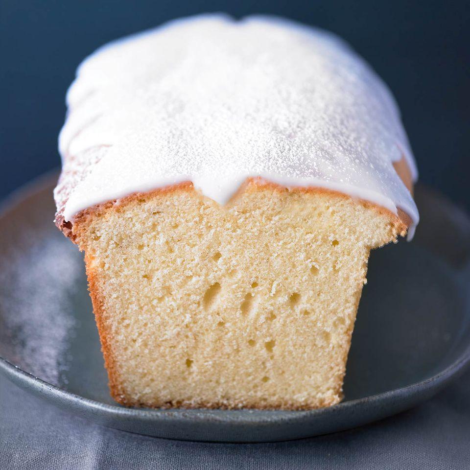 Zitronenkuchen mit Zuckerguss für Thermomix ®