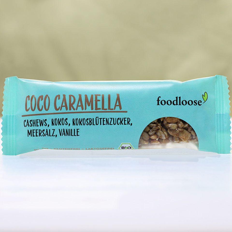 Coco Caramella Nussriegel von foodloose
