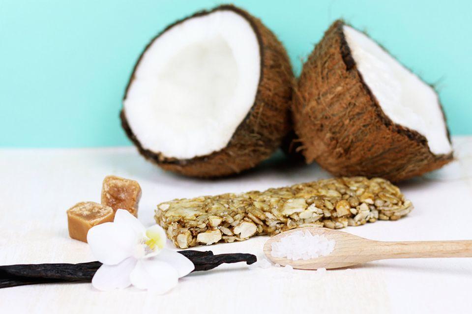 Coco Caramella Nussriegel von foodloose Zutaten