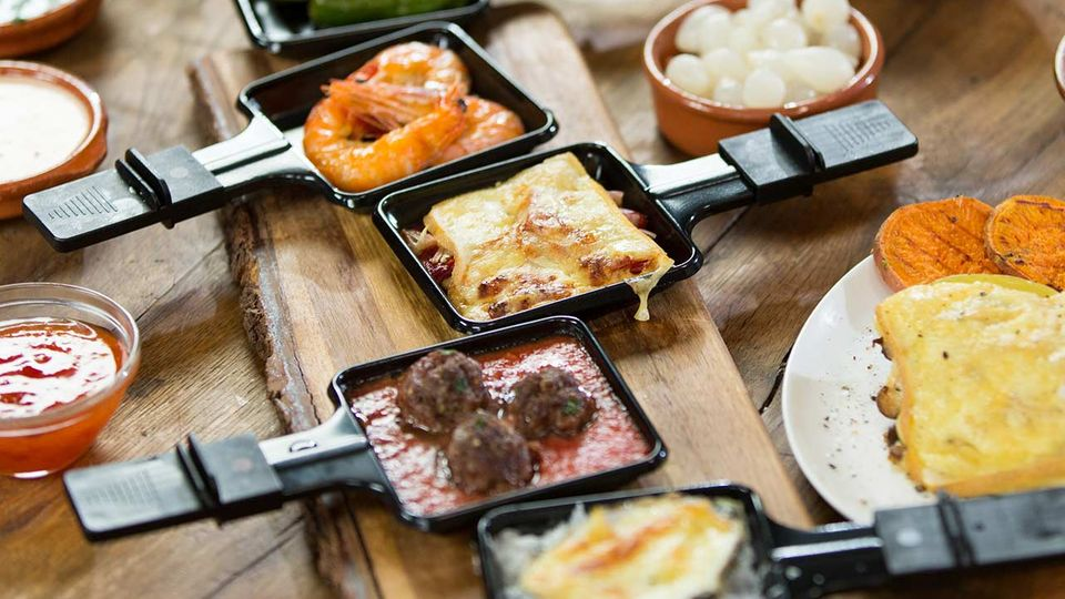 Raclette Rezepte von Fabio Haebel