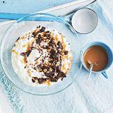 Karamell-Milchreis mit Schoko-Erdnuss-Topping für Thermomix ®