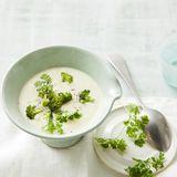 Blumenkohlcremesuppe mit Brokkoli für Thermomix ®
