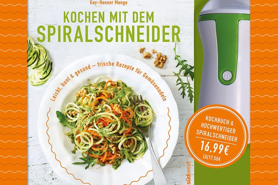 Buch-Set Kochen mit dem Spiralschneider von Kay-Henner Menge