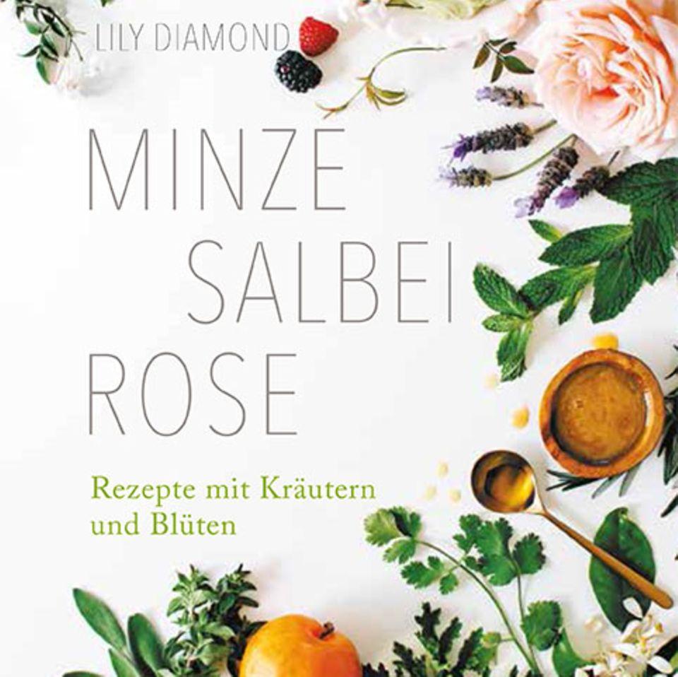 "Buchcover ""Minze Salbei Rose"""