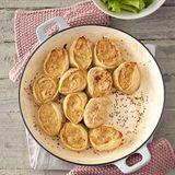 Krautschnecken mit Salat