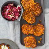 Kartoffel-Kürbis-Rösti mit Radicchio-Salat Thermomi  ®
