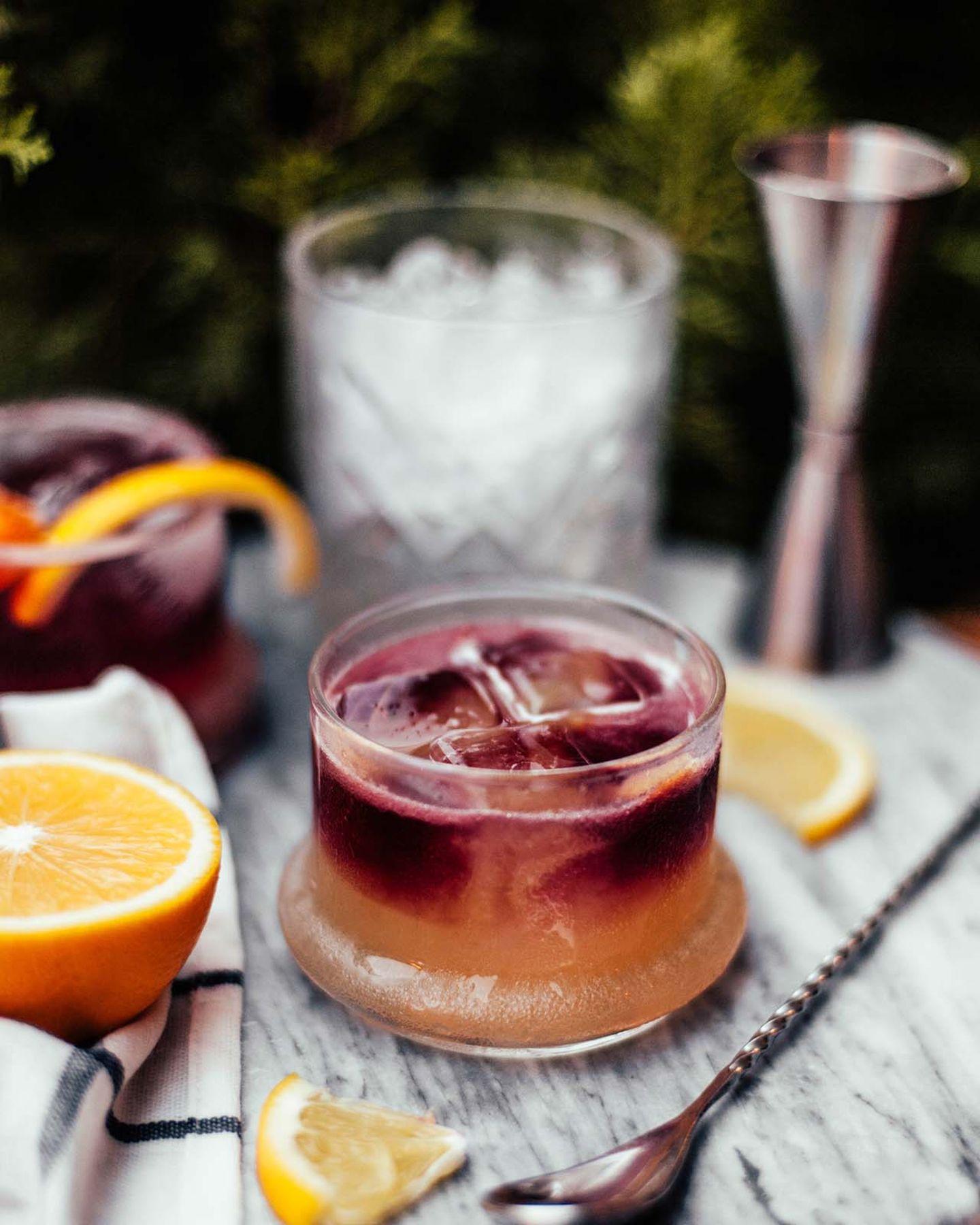 Beliebter Cocktail: New York Sour