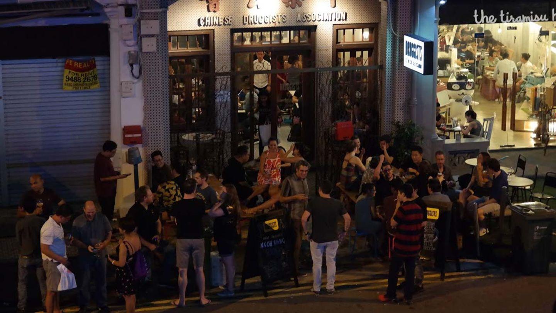 The Druggists ist eine beliebte Bar