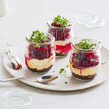 Meerrettich-Cheesecakes mit Roter Bete für Thermomix ®