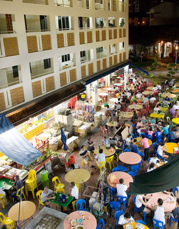 Changi Village Hawker Centre Streetfood Singapur