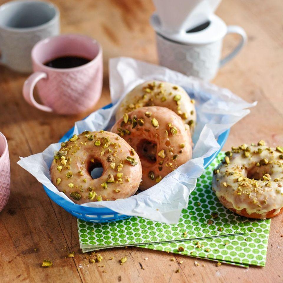 Pistazien-Donuts