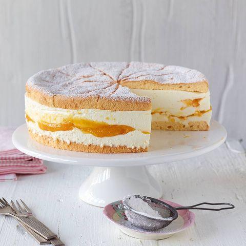 Käse-Sahne-Torte mit Mango für Thermomix ®