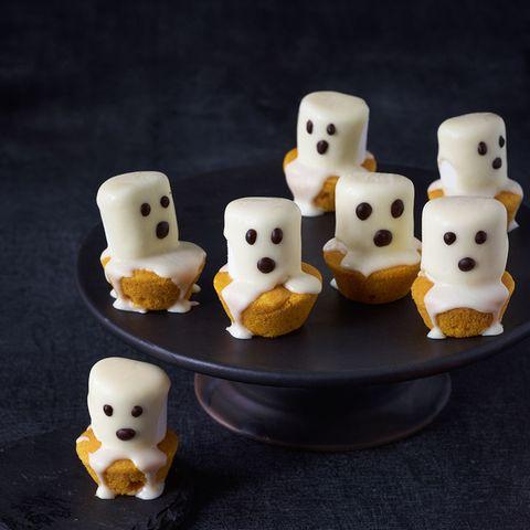 Geister-Kürbis-Muffins