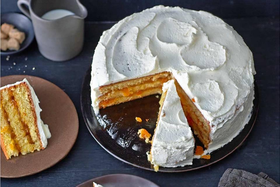 Orangen-Aprikosen-Torte: Thermomix ® Rezept