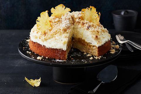 Ananas-Maulwurftorte