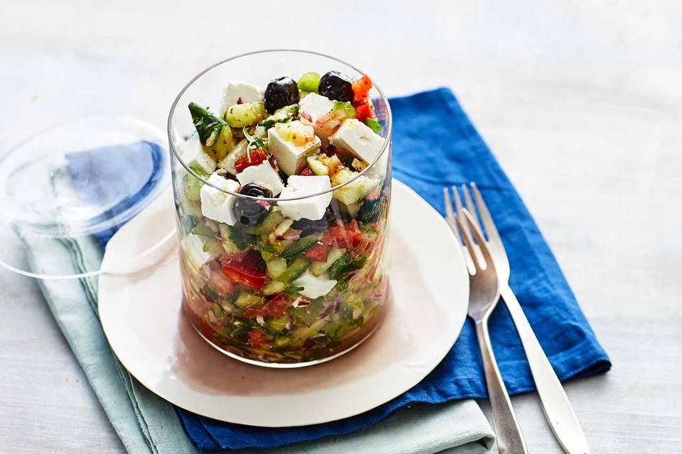 Griechischer Salat: Thermomix ® Rezept