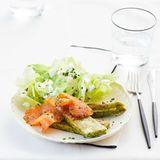 Pikante Kräuterschnitten mit Graved Lachs: Thermomix ® Rezept