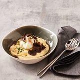 Polenta mit Trüffel und Ei: Thermomix ® Rezept