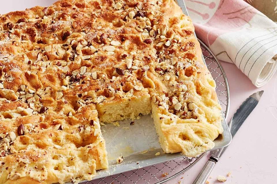 Marzipan-Butterkuchen: Thermomix ® Rezept