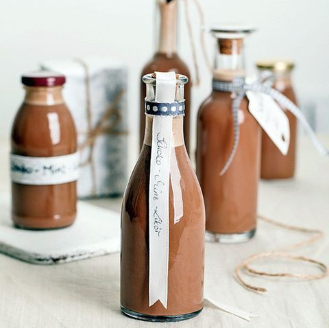 Schokoladen-Minz-Likör