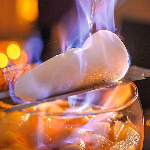 Weiße Feuerzangenbowle
