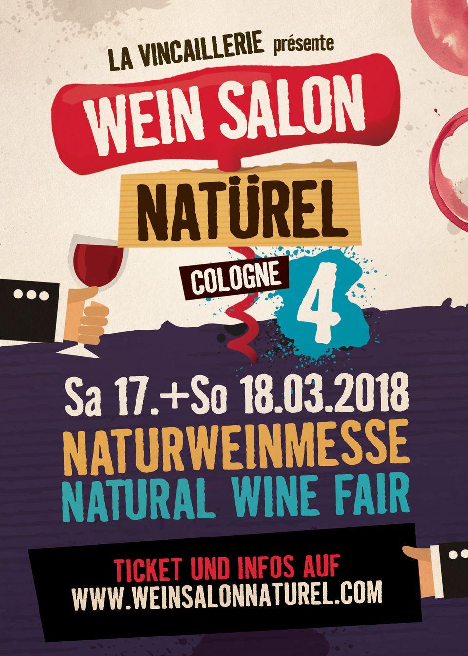 Wein Salon Natürel, Naturweine, Weinmesse Köln, Wein Salon Natürel Köln