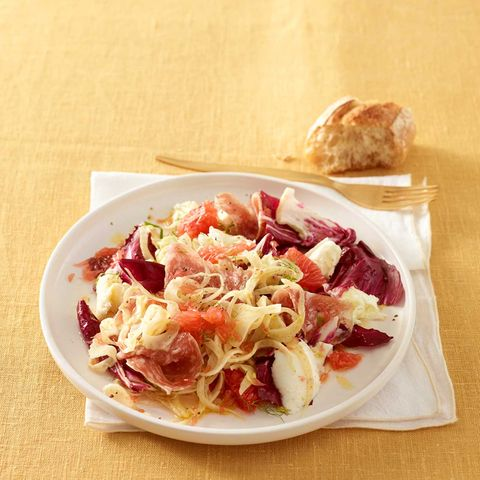 Fenchelsalat mit Salami