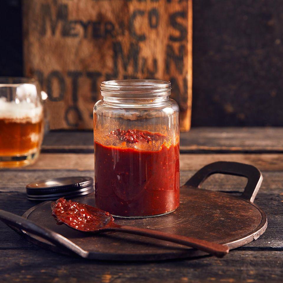 BBQ-Sauce: Thermomix ® Rezept