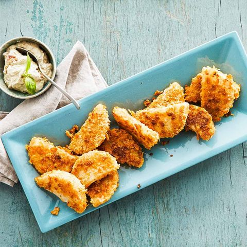 Kohlrabi-Schnitzel mit Basilikumquark: Thermomix ® Rezept